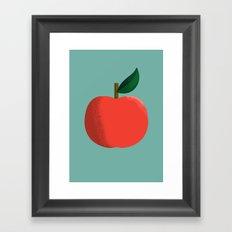 Apple 01 Framed Art Print