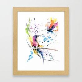 Hummingbird 5 Framed Art Print