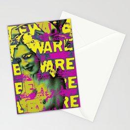Beware Sleaze Stationery Cards