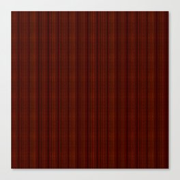 Smoother Red Stripes Canvas Print