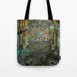 Apocalyptic Vision of the Sistine Chapel Rome 2020 Tote Bag