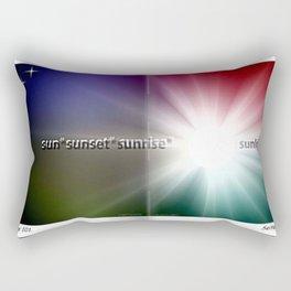 In den Strahlen der Sonne. Rectangular Pillow