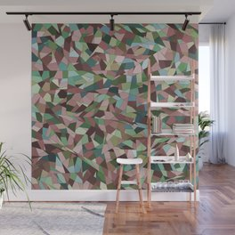 Delicate stained glass Wall Mural