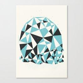 Forest 3 Sleepy Bear Canvas Print
