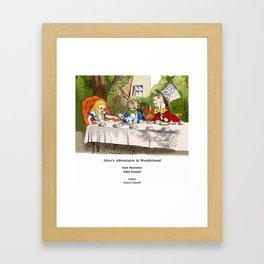 "John Tenniel, "" Alice's Adventures in Wonderland "",color ver.2 Framed Art Print"