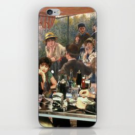 Renoir's Luncheon of the Boating Party & Grease iPhone Skin