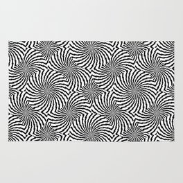 Lightning Bolt Rounds Rug