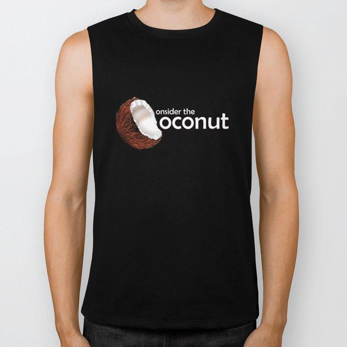 Consider the coconut... Biker Tank