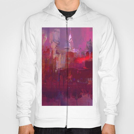 Red city Hoody