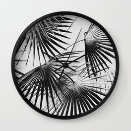 Tropical #5 (invert) Wall Clock