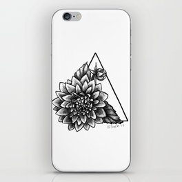 Darling Dahlia iPhone Skin