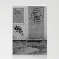 newspaper Stationery Cards featuring Death's newspaper booth by A-Pass