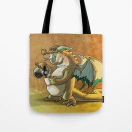 It was a rough knight. Tote Bag