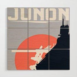 Final Fantasy VII - Visit Junon Propaganda Poster Wood Wall Art