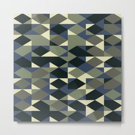 Abstract Geometric Artwork 46 Metal Print