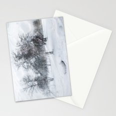 Wild Wind Winter Stationery Cards
