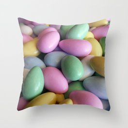 Candied Almonds Throw Pillow