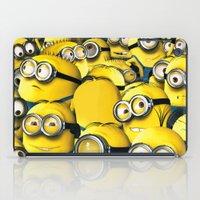 targaryen iPad Cases featuring DESPICABLE MINION by BeautyArtGalery