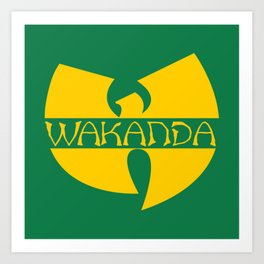 Wa-tang Kanda Art Print