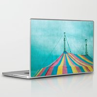 circus Laptop & iPad Skins featuring Circus by The Last Sparrow