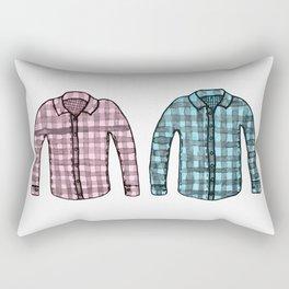Flannel shirts Rectangular Pillow