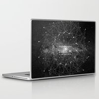 dear Laptop & iPad Skins featuring STARGAZING IS LIKE TIME TRAVEL by Amanda Mocci