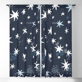 Starry night patterns Blackout Curtain