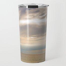 Sunset on the shore Travel Mug