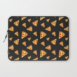 Cool and fun pizza slices pattern Laptop Sleeve