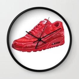 Air To The Max Wall Clock