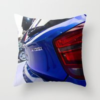 bmw Throw Pillows featuring BMW M135i back by Mauricio Santana