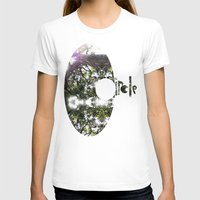 circle T-shirts featuring Circle by Ben Geiger