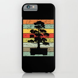 Bonsai Tree Japan Culture Retro Vintage Gift iPhone Case
