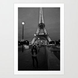Tower De Eiffel Art Print