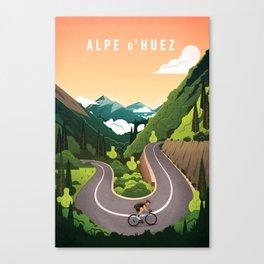 Alp d'Huez Canvas Print