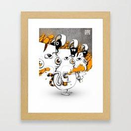 WHOA! Disorder Framed Art Print