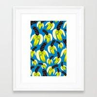 kenzo Framed Art Prints featuring Banana Kenzo by V.F.Store