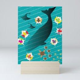 Ocean Harmony Mini Art Print