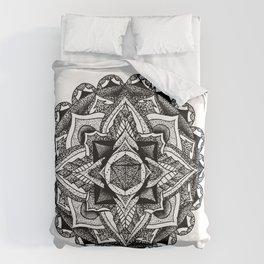 Mandala Circles Duvet Cover