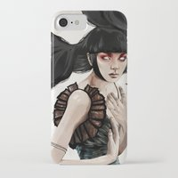 knight iPhone & iPod Cases featuring Knight by Feline Zegers