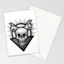 Demon Skull Stationery Cards