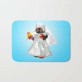 Bridebot Blue Bath Mat