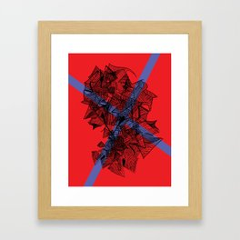 Line Abstraction  Framed Art Print