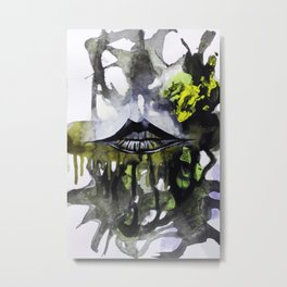 Lips II Metal Print
