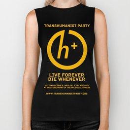 Transhumanist Party Biker Tank