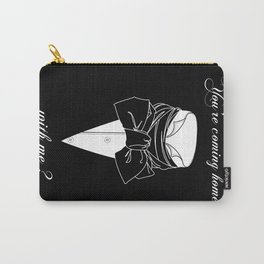 John Thornton : Coming home  -white txt- Carry-All Pouch