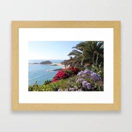 Topical Beauty Framed Art Print