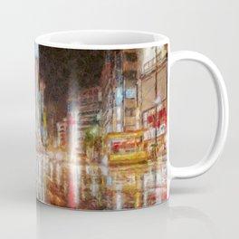 Tokyo In Art Coffee Mug