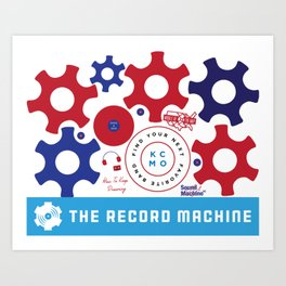 TRM Icons Art Print