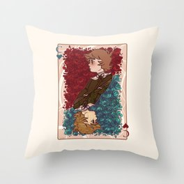 The Chihiro of Hearts Throw Pillow